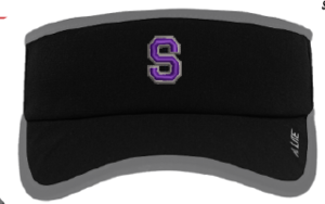 "Performance Visor with Spartan ""S"""